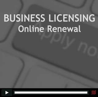 Online Business License Renewal