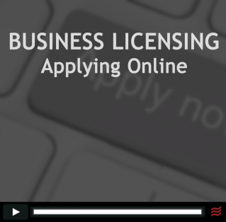 Applying for a business license