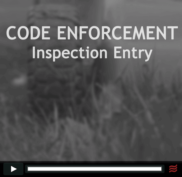 Code Enforcement Inspection Entry